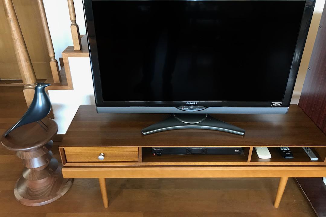 826STANDARD UNIT126cm テレビボードのあるお部屋